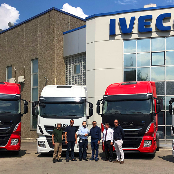 5 Stralis trucks from Iveco to Meryildiz